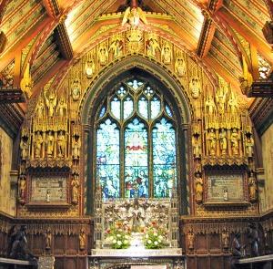 St Mary Magdalene church Sandringham interior