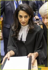 Amal Alamuddin Takes On Turkish Genocide-Denier At European Court