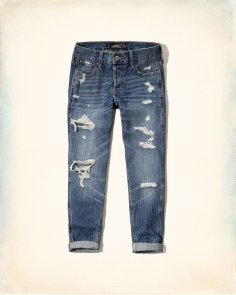 Hollister Boyfriend Jeans source