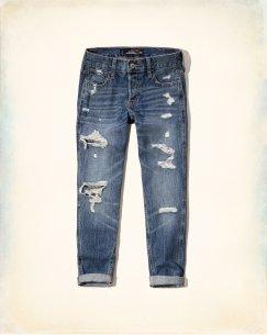 Hollister Boyfriend Jeans source
