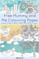 free-mummy-and-me-colouring-pages