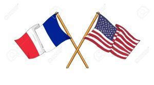 10818310-American-and-french-alliance-and-friendship-Stock-Photo-flag