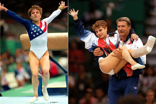 kerri-strug-carried-by-bella-kyroli-olympics-ca