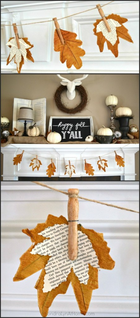 fall-leaf-banner-with-bookpage-leaves-from-sondra-lyn-at-home-com_