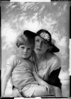 NPG x132041; John Julius Cooper, 2nd Viscount Norwich; Diana, Viscountess Norwich (Lady Diana Cooper) by Yvonne Gregory