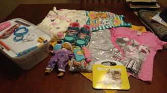 Toddler girl box.