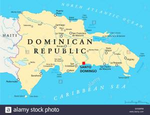 dominican-republic-political-map-EKGMRM