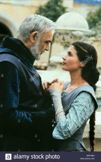 SEAN CONNERY & JULIA ORMOND Film 'FIRST KNIGHT' (1995) Directed By JERRY ZUCKER 07 July 1995 SSU80975 Allstar Collection/COLUMBIA **WARNING** This photograph can only be reproduced by publications in conjunction with the promotion of the above film. For Editorial Use Only.