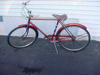 Vintage-1960s-3-Speed-Raleigh-Sports-Touring-Bicycle