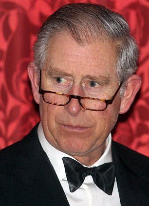 File photo dated 16/02/11 of the Prince of Wales wearing a pair of glasses to give a speech - the first time the royal is thought to have used spectacles in public, at a dinner at St James Palace for the British Asian Trust. PRESS ASSOCIATION Photo. Issue date: Thursday February 17, 2011. Charles donned what looked like reading glasses as he addressed a dinner of leading British Asians at St James's Palace in London last night. The heir to the throne wore the tortoiseshell spectacles at the end of his nose as scanned his text, and occasionally looked over them to address his audience. See PA story ROYAL Charles. Photo credit should read: Lewis Whyld/PA Wire