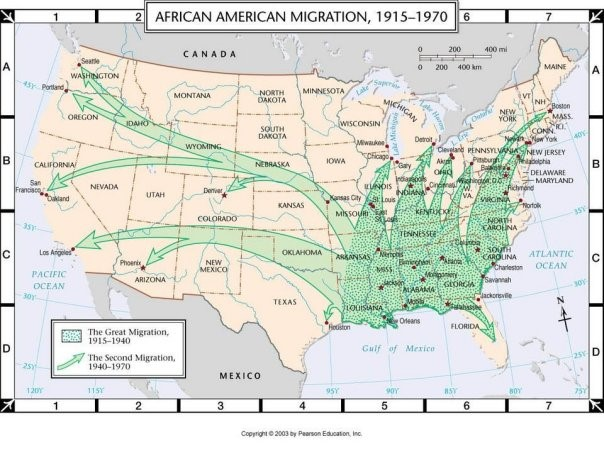 African+American+Migration,+1915-1970